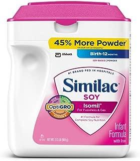 Similac - Soy Isomil Infant Formula, 34 oz. - 2 pk