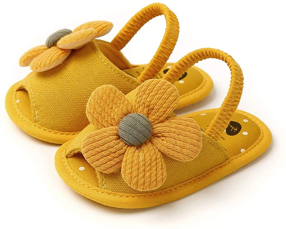 Toddler Baby Max 58% OFF Girl Shoes Omaha Mall Sunflower Kids Shoe Dots Sandals