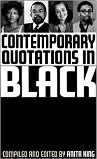 Contemporary Quotations in Black