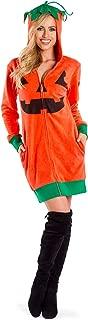 Women's Cute Pumpkin Costume w/Pockets - Adult Pumpkin Dress for Halloween