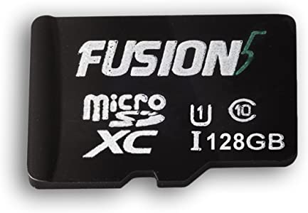 Fusion5 Fast Micro Card  128GB MicroSDXC UHS-I Grade Class Card High S...