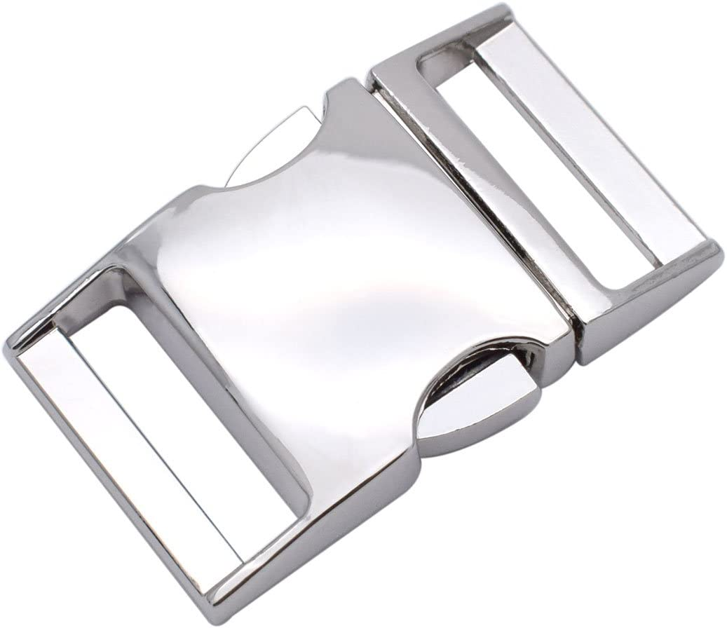 1 Inch Metal Buckles Side Release Max 71% OFF P 25mm Use Direct stock discount Clasp Webbing For