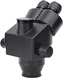 Microscope stéréo en Alliage d'aluminium de Haute précision Durable 7-45X Industriel pour l'identification de Bijoux pour ...