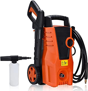 EnjoyShop 2000W 1400PSI Electric High Pressure Washer Machine Sprayer Cleaner