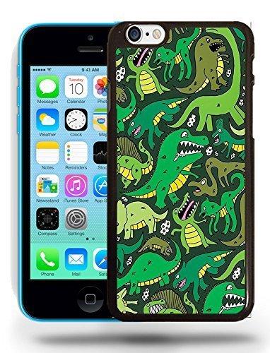 Vert Aligator Papier peint Motifs Téléphone Coque pour iPhone 5C Motif