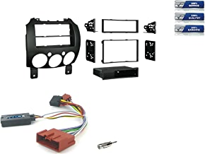 JVC KDR992BT 1-Din Radio CD Bluetooth Spotify Variocolor inkl Einbauset f/ür BMW Z4 E85 Roadster 2003-2008