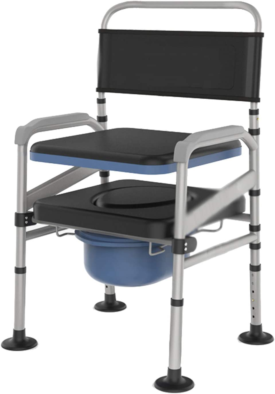 Portable Bedside Columbus Mall Max 64% OFF Commode Heavy Duty Elderly Chair Shower F for