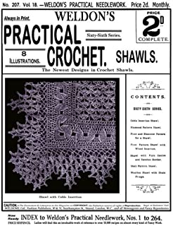 Weldon's 2D #207 c.1902 - Practical Crochet Shawls (Weldon's Practical Needlework)