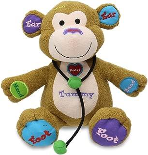 Cuddle Barn Learning Child Play Animated Plush Monkey Toy - Dr. Charlie (CB4761)