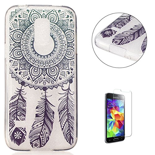 Diseño exclusivo de moda perfecto para el Samsung Galaxy S5 Mini de material de peso ligero nunca hará que su teléfono móvil parece voluminoso Visible: Su teléfono parece que no lleva funda casi gracias a material muy transparente El material TPU fle...