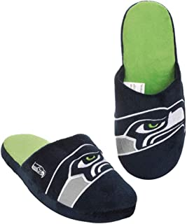 Forever Collectibles NFL Seattle Seahawks Men's Slip On Slippers