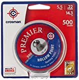 Crosman LHP22 .22-Caliber Premier Hollow Point Pellets (500-Count)