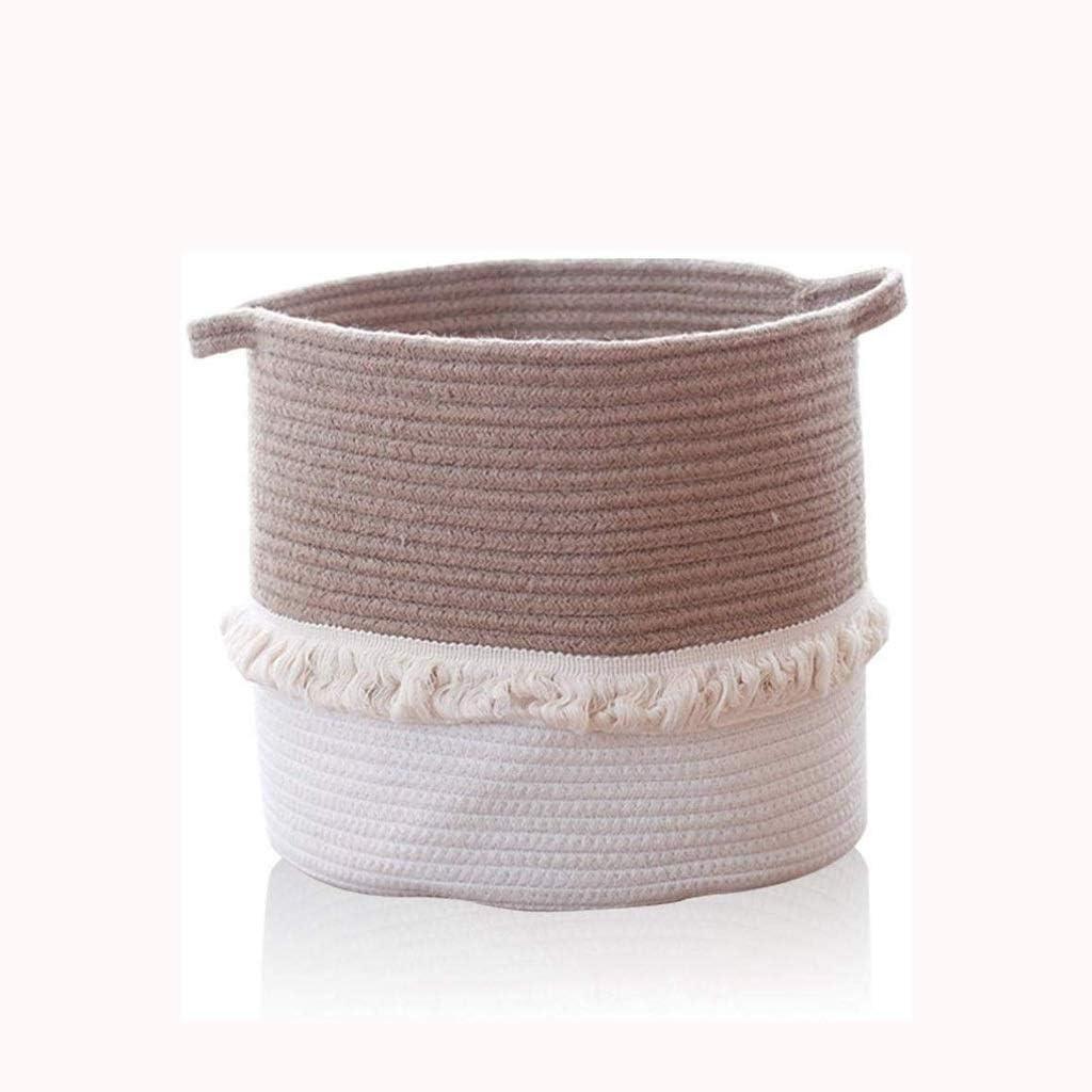 LIMEI-ZEN Limited Special Price Cotton supreme Woven Storage Desktop Manual Sto Basket