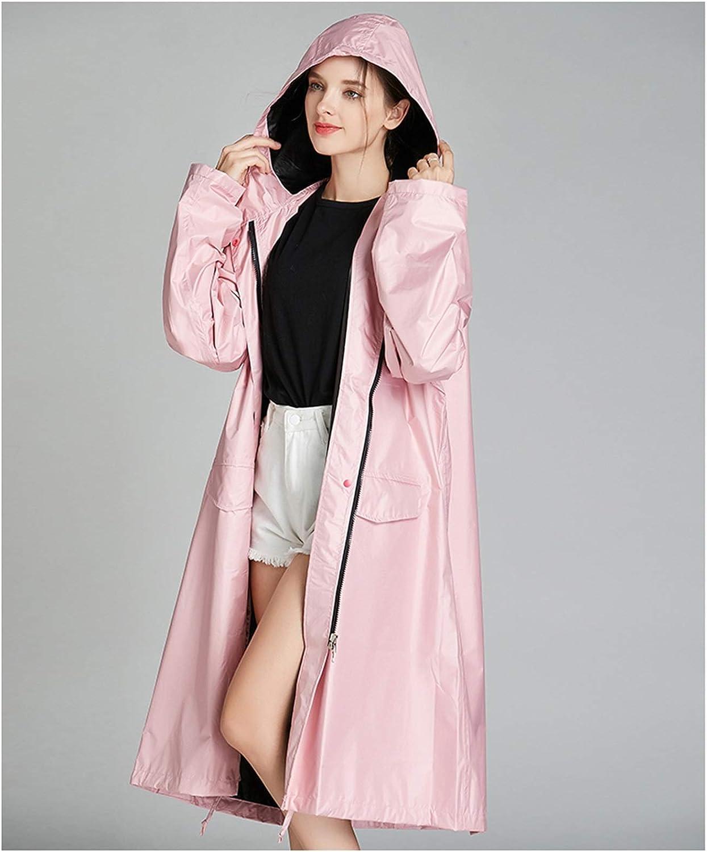 hgkl 35% OFF Rain Poncho Raincoat Cheap mail order specialty store Women's Windb Waterproof Ribbon Zipper