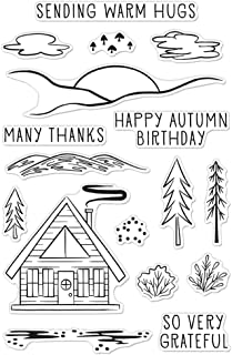 Hero Arts Clear STMP HPPY Autmn, Happy Autumn Forest