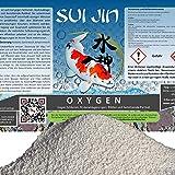 SUI JIN Teichprodukte 5kg(5L) Oxygen - Peroxyd O2 Fadenalgen Biologie Optimierung mit Sauerstoff