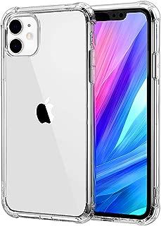 iphone 11 ケース クリア 耐衝撃 透明 ソフト TPU 耐久 シリコン アイフォン11 ケース 超軽量 薄型 防塵 Qi充電対応 黄変防止 おしゃれ 指紋防止 一体型 人気 水洗(クリア)