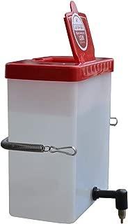 RentACoop No Drip Small Animal Water Bottle. BPA Free. Best Water Bottle for Small Pet/Bunny/Ferret/Hamster/Guinea Pig/Rabbit