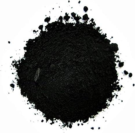 KIRALOVE Tintes en Polvo - Pintura - Pigmento al óleo - Vid Negra - Frescos - témpera - encáustica Coloreada - 100 Gramos - Idea de Regalo Original