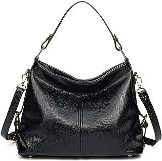Fine Bag/Fashion Women's Shoulder Bag Simple Wild Handbag Casual Large Capacity Crossbody Bag Work Shopping (Color : Black, Size : OneSize)