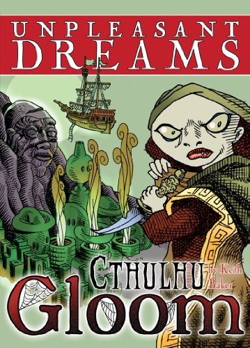 Atlas Games ATG01331 - Cthulhu Gloom - Unpleasant Dreams, Kartenspiel