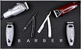 BRAYSON Large Nonslip Barber Work Station Mat For Clippers 19.5 x 11.5 - BB-BMAT