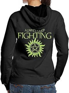 supernatural always keep fighting hoodie