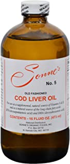 Sonne Products Cod Liver Oil 5 - 16 Oz, 2 Pack