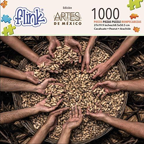 FLINK Rompecabezas Artes De México El CACAHUATE 1000 Piezas