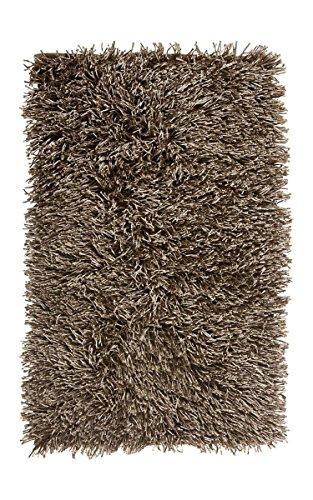 Badteppich Kemen Aquanova 60x100 Taupe, Sand, Dunkelgrau, Silbergrau, Farbe:Taupe