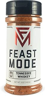 Tennessee Whiskey - Feast Mode Flavors - Low Sodium, No MSG, Gluten Free, All Natural, Meal Prep Seasoning , Healthy , Whiskey Flavoring, Dry Rub, BBQ Spice, Steak Seasoning