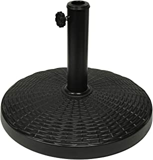 "Blissun 22 lbs Heavy Duty Patio Market Umbrella Base Stand (16.5"")"