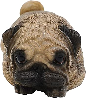 Pug Shelf Sitter Figurine Pet Lover Home Decor Dog Breed Puppy