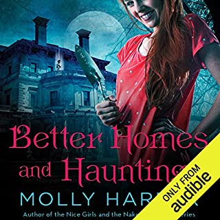 Better Homes and Hauntings audiobook cover art