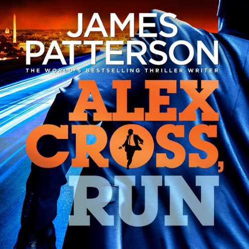 Alex Cross, Run audiobook cover art
