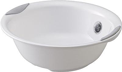 リス 湯桶 すべり止め付きラスレヴィーヌ プラチナホワイト 『ユニバーサルデザイン浴用』 日本製