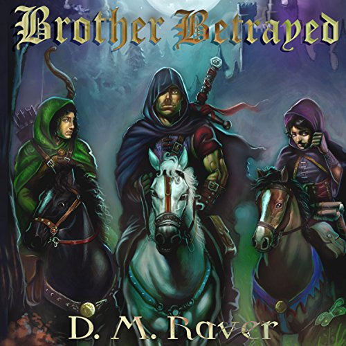 Brother Betrayed audiobook cover art