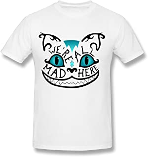 NUBIA We Are All Mad Here Cool Tee For Mens White