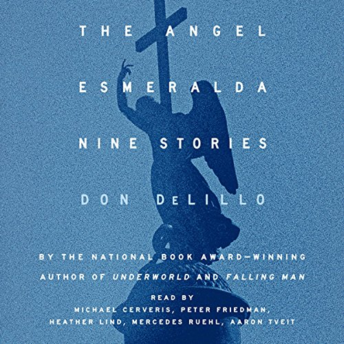 The Angel Esmeralda audiobook cover art
