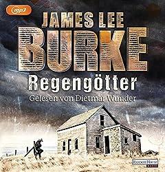 """Regengötter Das Hörbuch """"Regengötter"""" von James Lee Burke, gelesen von Dietmar Wunder…"""