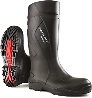 Dunlop Protective Footwear Dunlop Protomastor142PP 44 EU 10 Black Safety Boots Unisex Adults Black