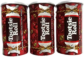 Colorful Tootsie Roll Bank, 4-Ounce Boxes ( Pack of 3 )