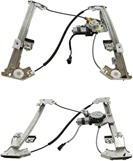 Prime Choice Auto Parts WR841953PR 2 Front Power Window Regulators with Motor