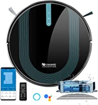 Proscenic 850T Robot Vacuum Cleaner, 3000Pa Strong Suction Robotic Vacuum and Mop, App and Alexa Voice Control, Super Thin...