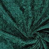 Fabulous Fabrics Pannesamt dunkelgrün – Weicher Samt