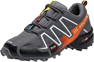 Scarpe da Trail Running Uomo, Outdoor off-Road da Escursionismo Scarpe da Ginnastica Traspiranti Antiscivolo Scarpe Resist...