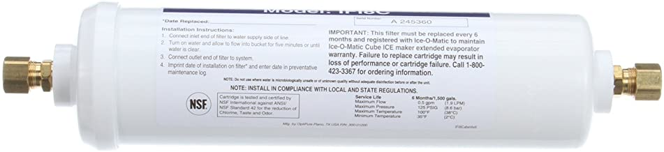 """Ice O Matic IFI8C in-Line 3/8"""" Compassion Water Filter Cartridge"""