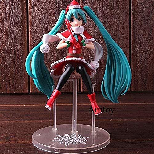 LWH-MOU SPM Super Premium Figura Hatsune Miku Navidad 2018 PVC Figura de Acción Miku Hatsune Modelo de Colección de Juguete