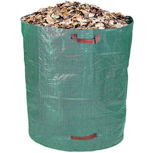 Schramm® Gartensack 500 Liter Grün Robustes Polypropylen Gewebe PP Gartensäcke Garten Sack Säcke Big Bag