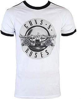 GUNS N ROSES ガンズアンドローゼズ BULLET LOGO SOCCER/Tシャツ/メンズ 【公式/オフィシャル】